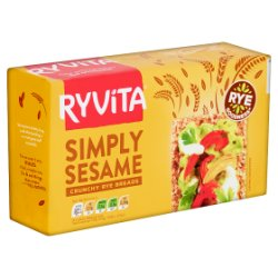 Ryvita Simply Sesame Crunchy Rye Breads 250g