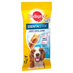PEDIGREE DentaStix Daily Dental Chews Medium Dog 7 Sticks