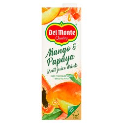 Del Monte Mango & Papaya Fruit Juice Drink 1 Litre