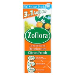 Zoflora 3in1 Action Concentrated Disinfectant Citrus Fresh 500ml