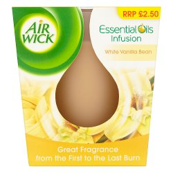 Air Wick Essential Oils Infusion White Vanilla Bean 105g