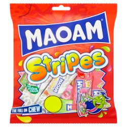 MAOAM Stripes Bag 160g £1 PMP