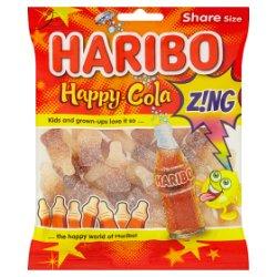 HARIBO Happy Cola Z!NG Bag 140g