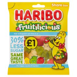 HARIBO Fruitilicious Bag 135g