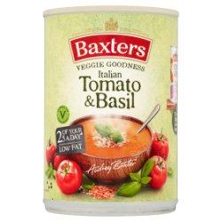 Baxters Vegetarian Italian & Basil 400g