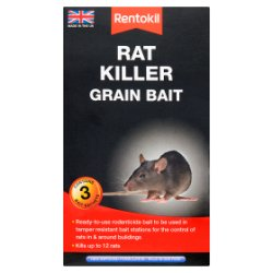 Rentokil Rat Killer Grain Bait 3 sachet