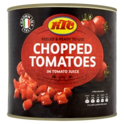 KTC Chopped Tomatoes in Tomato Juice 2.55kg
