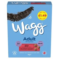 Wagg Adult Complete with Beef and Veg 1kg