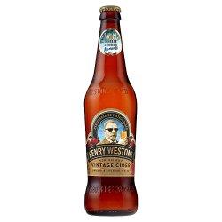 Henry Westons Oak Aged Vintage Herefordshire Cider 500ml