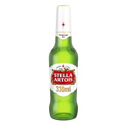 Stella Artois Lager Beer Bottles 24 x 330ml