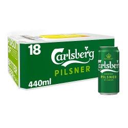Carlsberg Lager Beer 18 x 440ml
