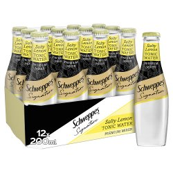 Schweppes 1783 Salty Lemon Tonic Water 12 x 200ml