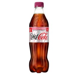 Diet Coke Strawberry 500ml PMP £1.09 or 2 for £2