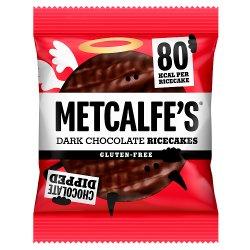 Metcalfe's Ricecakes Dark Chocolate 34g