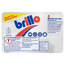 Brillo 5 Soap Pads