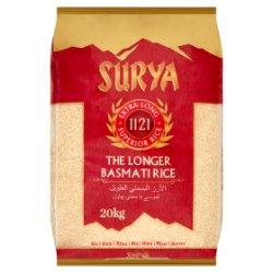 Surya 1121 Extra Long Superior Rice The Longer Basmati Rice 20kg