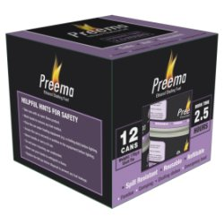 Preema Ethanol Chafing Fuel 2.5 hour 12 pack