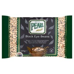 White Pearl Black Eye Beans 500g