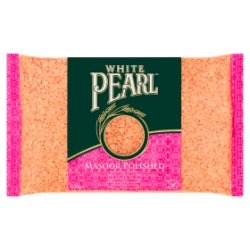 White Pearl Masoor Polished Red Split Lentils 500g