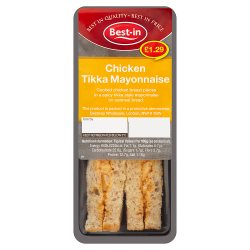 Best-in Chicken Tikka Mayonnaise Sandwich