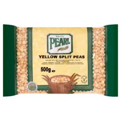 White Pearl Yellow Split Peas 500g