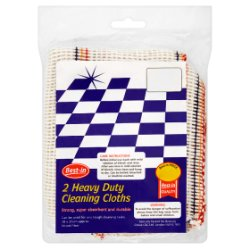 Best-in 2 Heavy Duty Cleaning Cloths