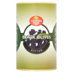 Caterers Pride Black Olives Pitted 4.25kg