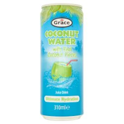 Grace Coconut Water Juice Drink with Real Coconut Pieces 310ml