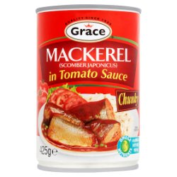 Grace Mackerel in Tomato Sauce 425g