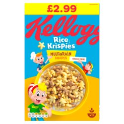 Kellogg's Rice Krispies Multigrain Shapes 350g