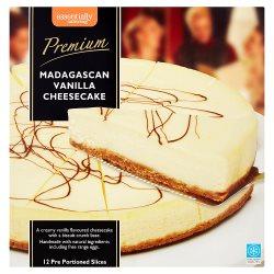 Essentially Catering Premium Madagascar Vanilla Cheesecake 1400g