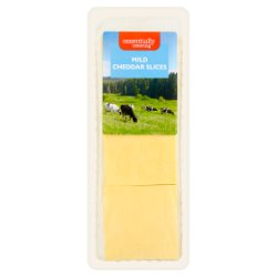 Essentially Catering Mild Cheddar Slices 1kg