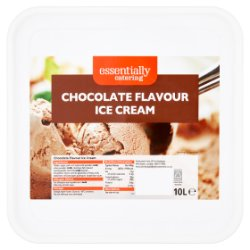 Essentially Catering Chocolate Flavour Ice Cream 10L