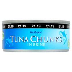 Best-One Tuna Chunks in Brine 160g