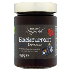 Inspired Conserve Blackcurrant PM £1.50