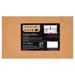Essentially Café Fairtrade Original Filter 20 x 65g