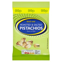 Best-One Roasted & Salted Pistachios 65g