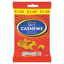 Best-One Spicy Cashews 70g