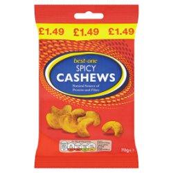 Best-One Spicy Cashews 70g