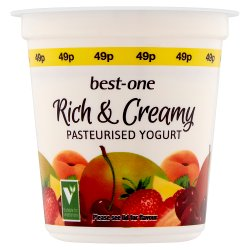 Best-One Rich & Creamy Apricot & Mango Pasteurised Yogurt 150g