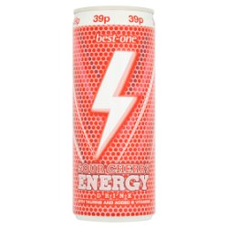 Best-One Sour Cherry Energy Drink 250ml