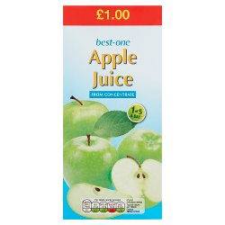Best-One Apple Juice from Concentrate 1 Litre