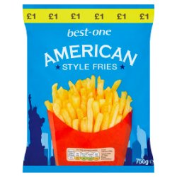 Best-One American Style Fries 750g
