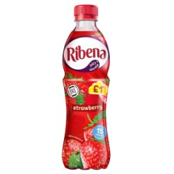 Ribena Strawberry 500ml £1 PMP