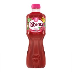 Ribena Raspberry 12 x 500ml £1.09 or 2 for £2