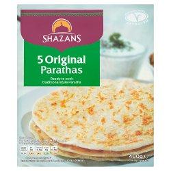 Shazans 5 Original Parathas 400g