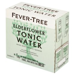 Fever-Tree Elderflower Tonic Water 8 x 500ml