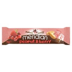 Meridian Peanut and Berry Bar 40g