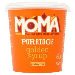 MOMA Porridge Golden Syrup 70g