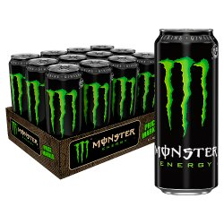 Monster Energy Drink 12 x 500ml PM £1.39